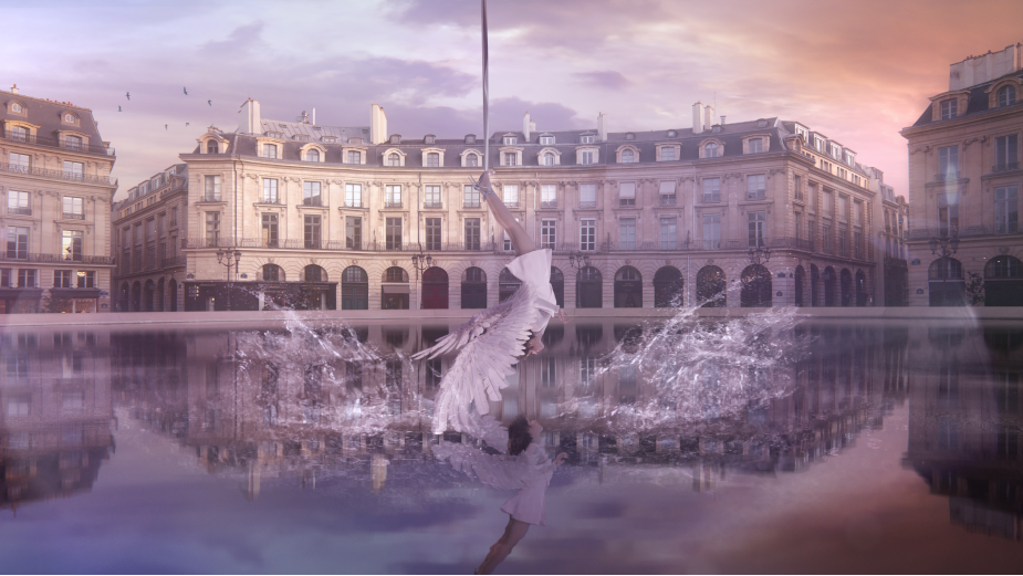 Floating Angels Dive to Earth to Launch L'Oréal Paris' Global Lash Campaign This Holiday Season