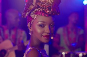 Nandi Madida Stars in Harry George Hall's Sumptuous African Lux Ad