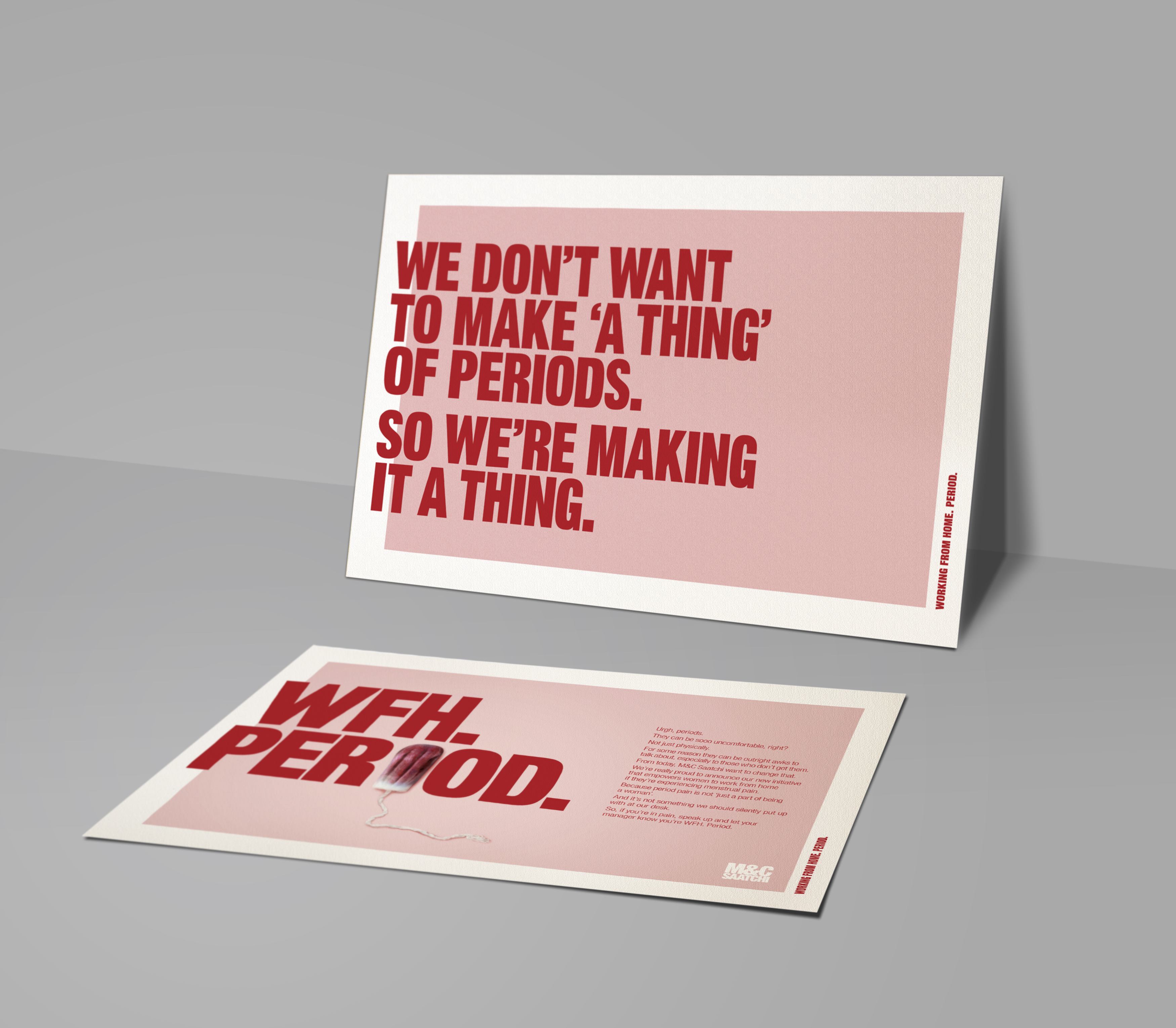 M&C Saatchi Sydney Introduces New 'Working From Home. Period' Initiative