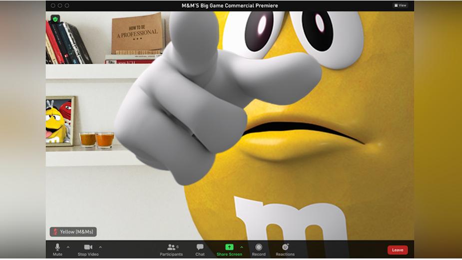M&M'S Hosts Virtual Super Bowl LV Ad Premiere