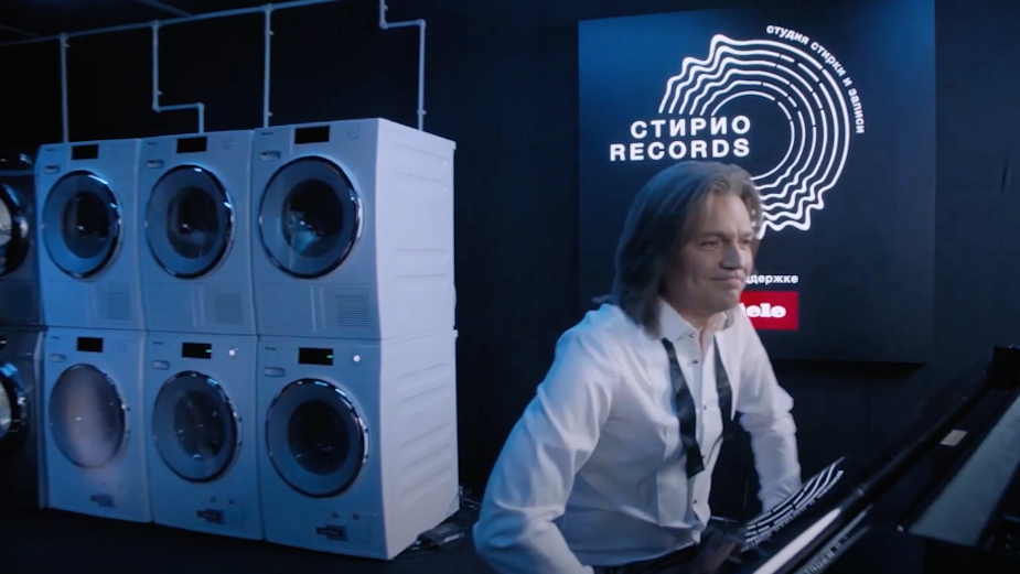 Iconic Russian Musician Dmitry Malikov Turns Laundry into Records with Miele