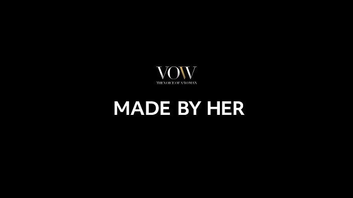 The Voice of a Woman (VOW) Launches 'Made By Her' at Cannes Lions