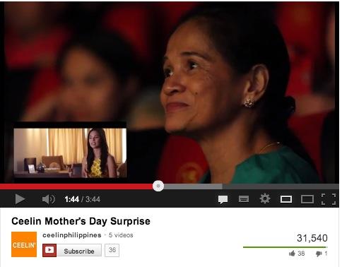Ceelin's Mother's Day Stunt