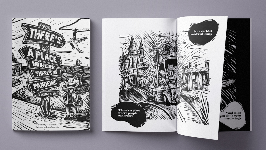 Forever Beta's Bedtime Storybook Brings Hope and Optimism to Children's Pandemic Fears