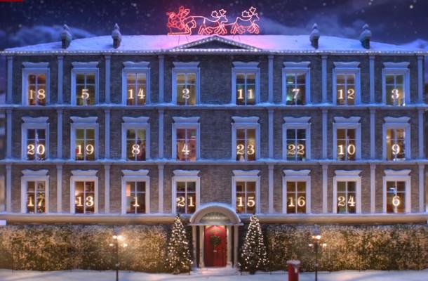 Sky's Christmas Movie Mansion is a Magical Advent Calendar