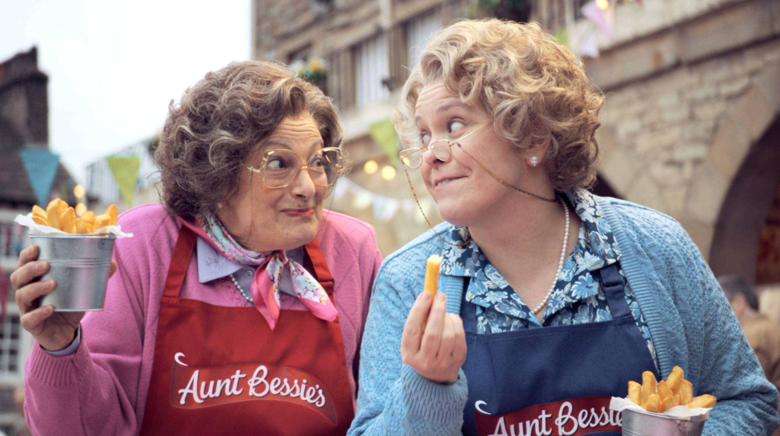 Margaret and Mabel Return to TV for St Luke's New Aunt Bessie's Campaign