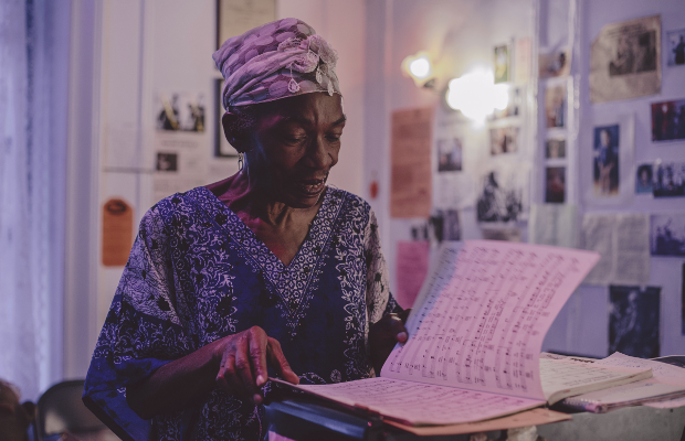 This Beautiful Short Film Is About a Lady Who Hosts a Weekly Jazz Concert in Her Own Home