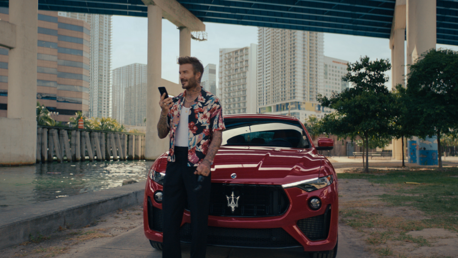 Behind The Work: No.8 Reveals Why Sound Is As Vital As The Visual In Maserati's Latest Spot, Starring David Beckham