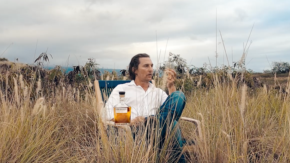 Matthew McConaughey Sparks Wonder and Curiosity with Longbranch