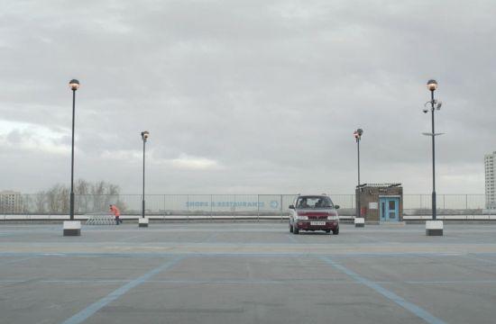 Leo Burnett Enjoys a McDonald's in a Car Park