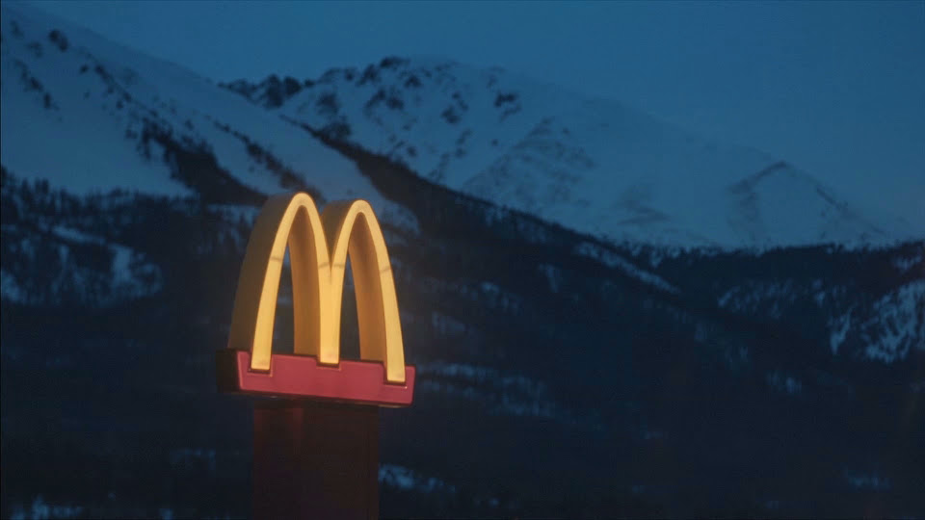 McDonald's Leaves Lights on to Support Key Workers