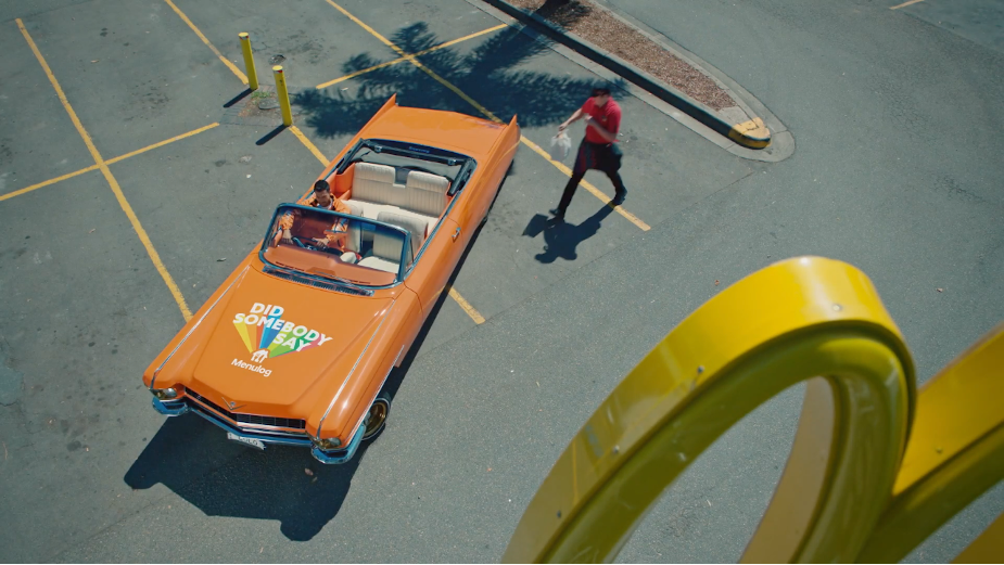 Menulog Takes Macca's to the Streets in Tasty New Campaign