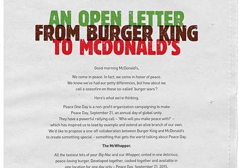 Y&R's Burger King 'McWhopper' campaign:How a big idea from little New Zealand went global