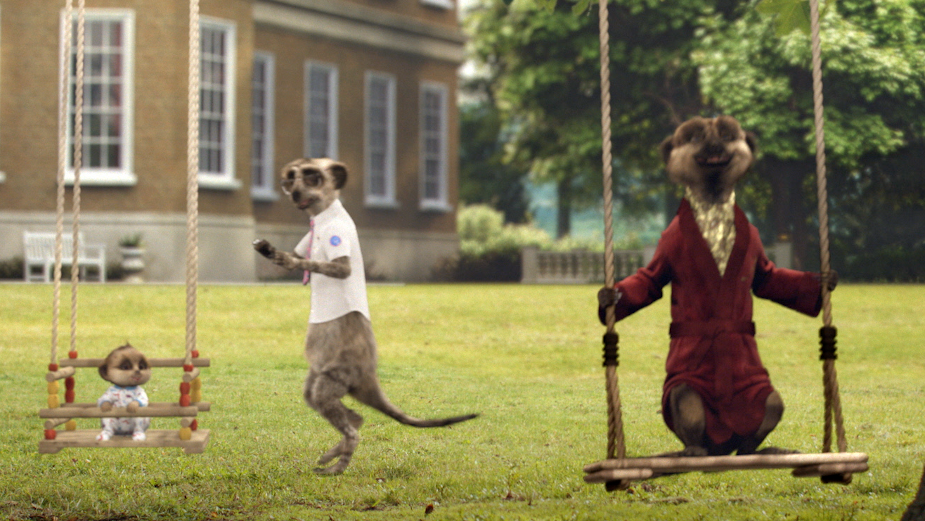Aleksandr Meerkat Reunites Take That with Robbie Williams for First Meerkat Music Gig