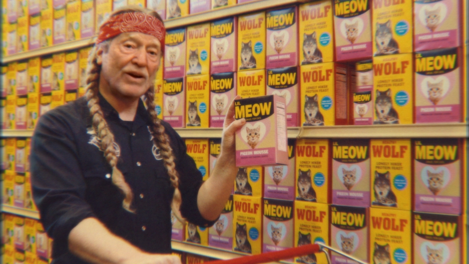 Willie Nelson Shops His Way Around Omega Mart in Andreas Nilsson's 'Exceptional' Spot