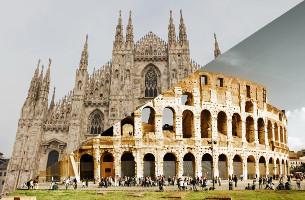 Milan Vs. Rome: A Creative Showdown