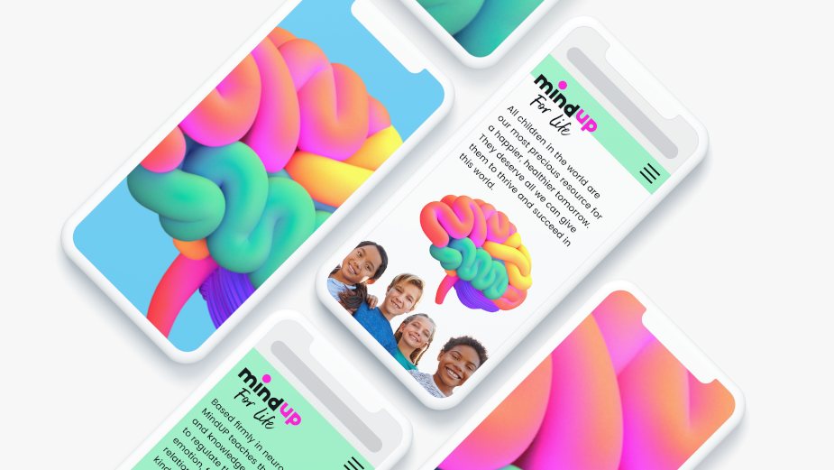 MindUP Rebrands as MindUP for Life and Evolves Visual Identity to Embody New Holistic Direction