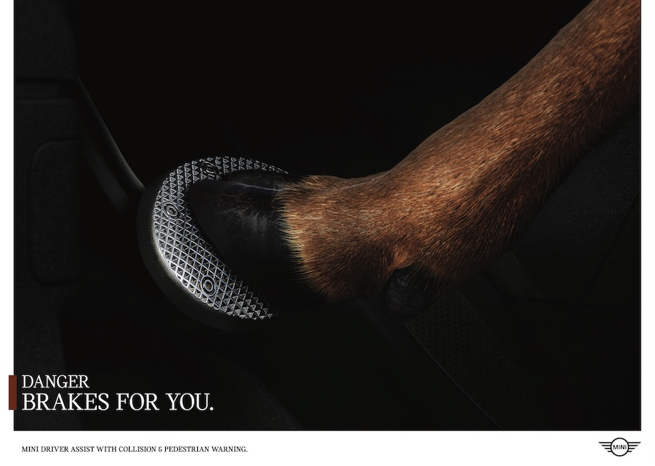 MINI Launches New 'Danger Brakes for You' Campaign
