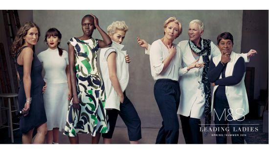Marks & Spencer Unveils its Spring/Summer Leading Ladies