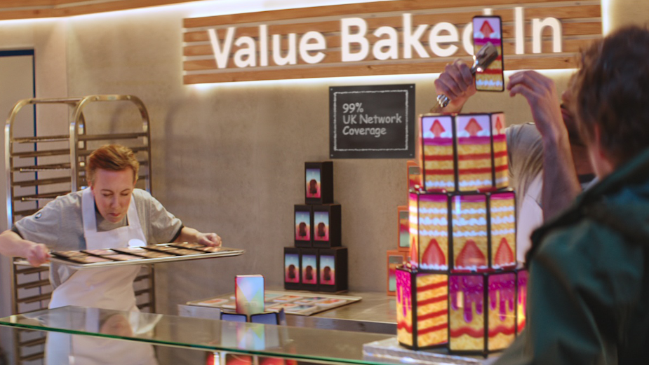 Supermarkets and Mobile Networks Collide in Too Good to be True Tesco Spot