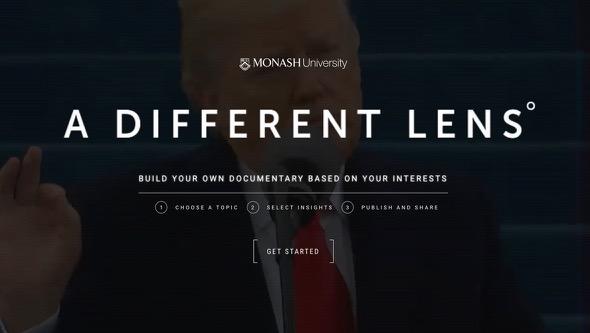 Monash University Unveils 'Build Your Own Documentary' Publishing Platform
