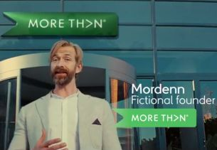 More Th>N Insurance Relaunches Brand with Fresh Fictional Frontman Mordenn Surenns