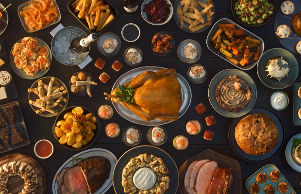 2AM's Jason Lowe Shoots A Mouth-Watering Festive Feast for Morrisons