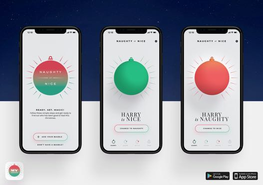 Myer and Clemenger BBDO Melbourne Deliver Christmas Magic with Naughty or Nice Baubles