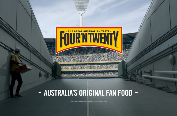 Four'N Twenty Ad Celebrates Australia's Original Fans