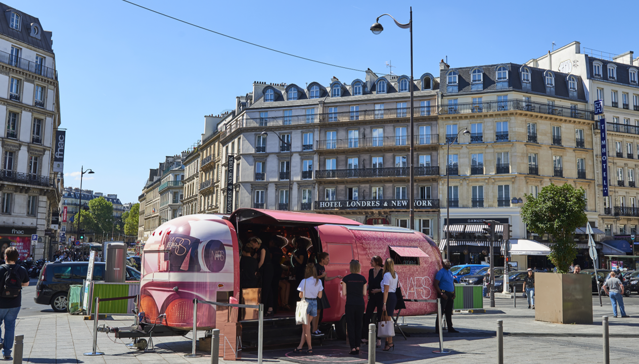 The NARS Orgasm Tour Hits the Road to Bring New Blush Collection to European Beauty Fans