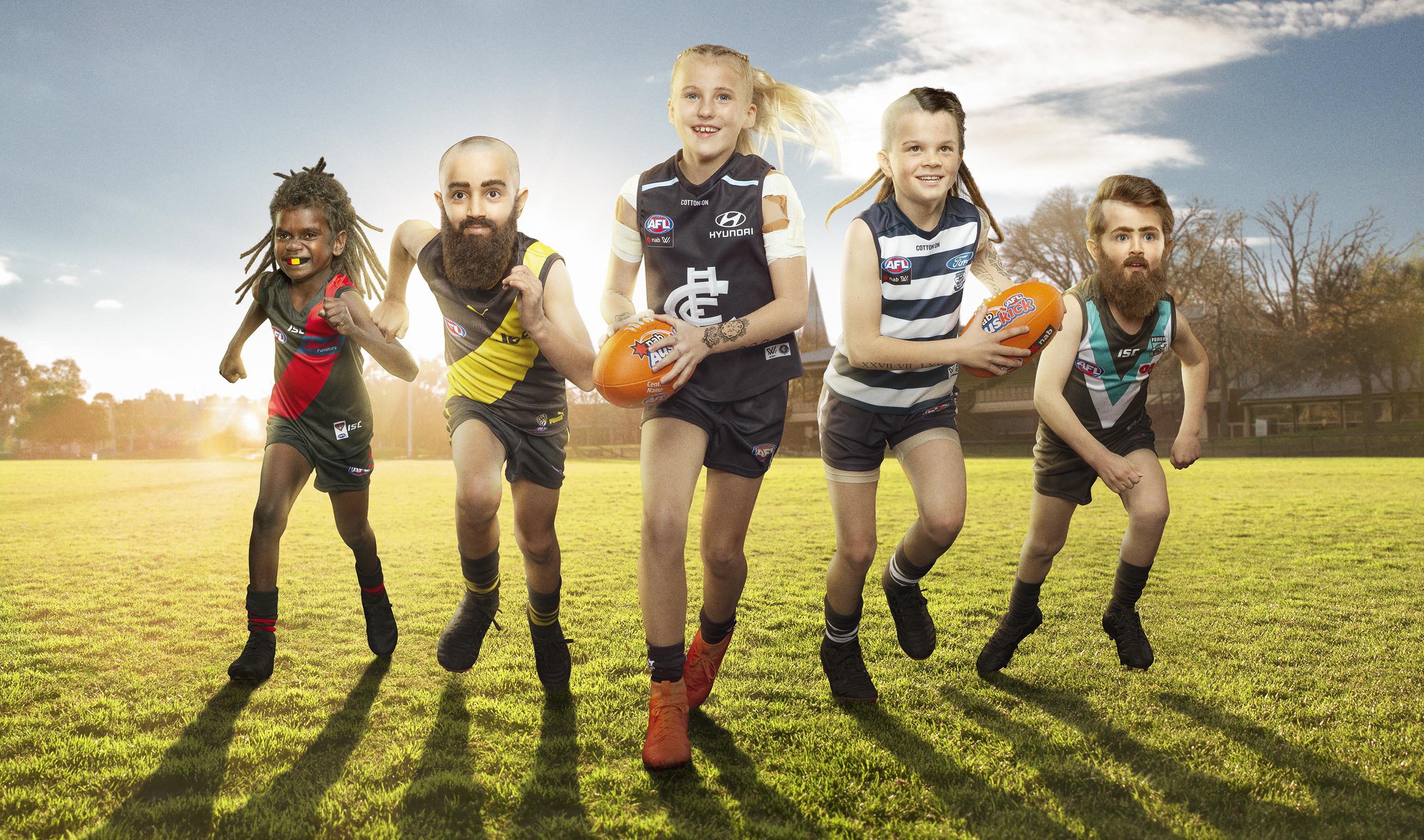 NAB and Clemenger BBDO Melbourne Unveil the 2019 Mini Legends
