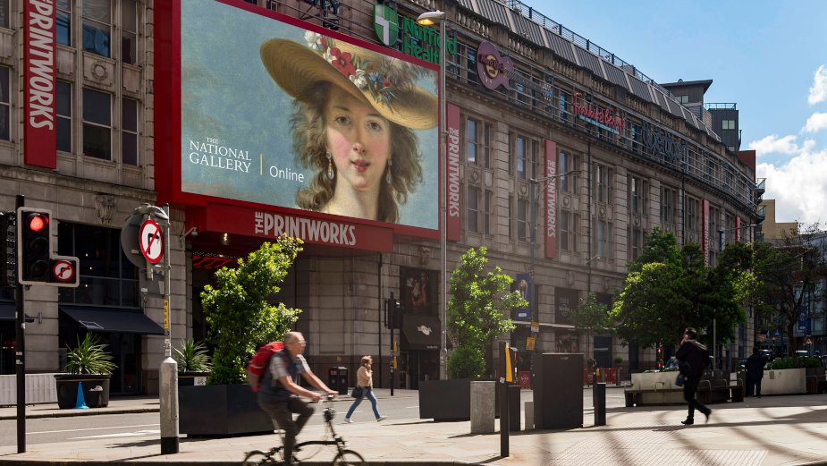 The National Gallery Is Now on UK Streets With the Support of Ocean Outdoor