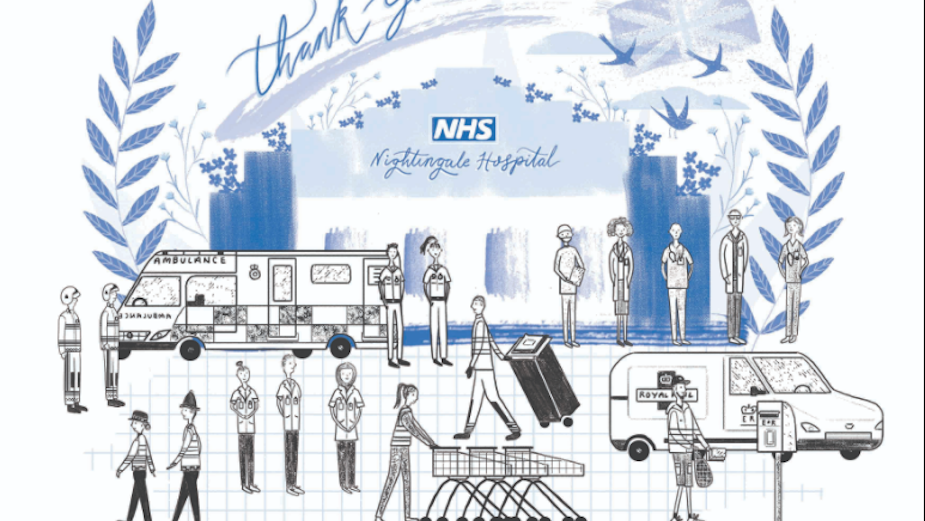 Innovative Siblings Collaborate in Isolation to Say Thanks to the NHS