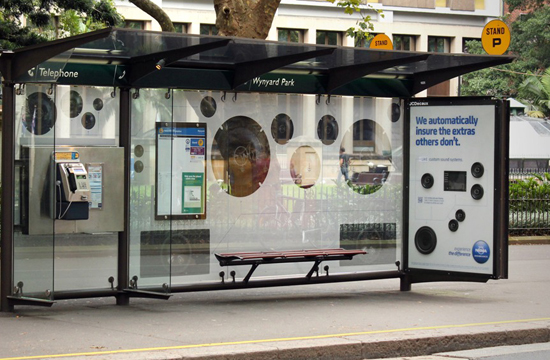 NRMA Insurance's First Interactive Outdoor Campaign