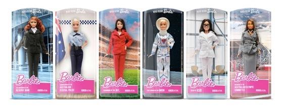 Mattel Australia and Clemenger BBDO Melbourne Launch New 'Never Before Barbie' Doll Range