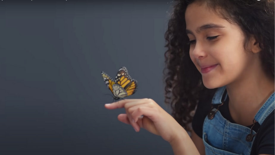 Nice Shoes Puts the Fluttering Final Touches on the Child Superstars in OshKosh B'gosh's New Campaign