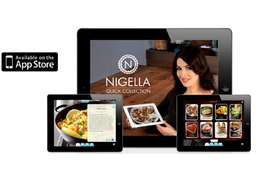 Random House & AKQA's 'Nigella Quick' Collection app