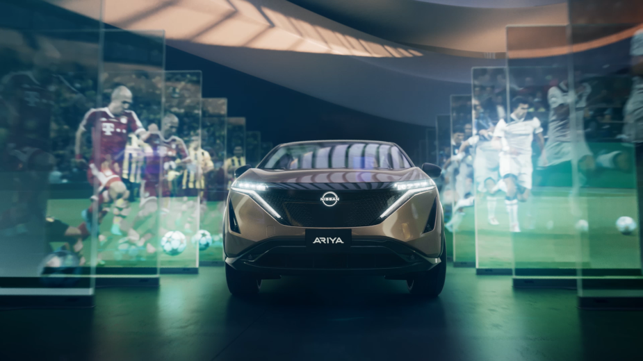 Nissan's Art Installation Idents Capture Emotional History of Football's Champions League