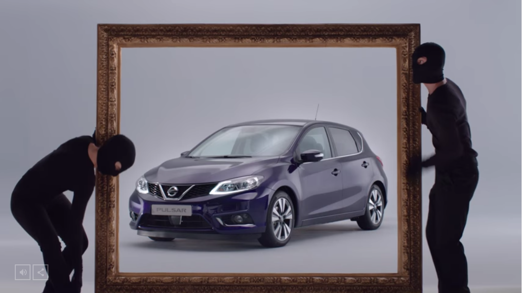 Unveil The Nissan Pulsar In MRY UK's Interactive Experience