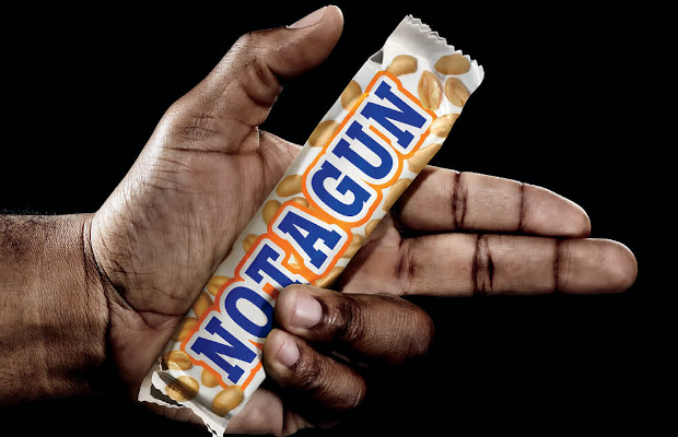 Goodby Silverstein & Partners Swaps Guns for Candy Bars