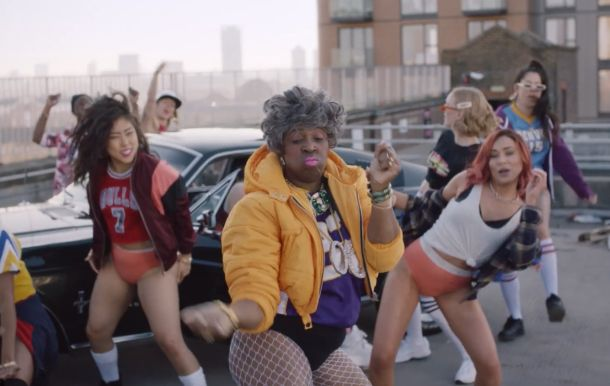 Granny's Got Moves - and Pants - in MullenLowe Campaign for Sloggi