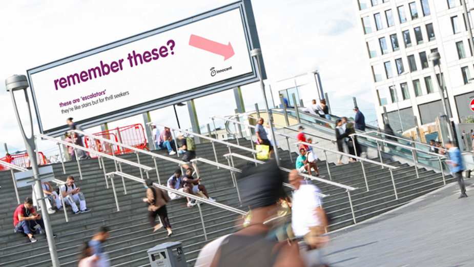 innocent Reminds UK of a Simpler Time Pre-Lockdown with Competition-Winning Outdoor Campaign