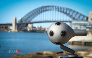 Start VR Partners with Nokia to Showcase OZO VR Camera in Australasia