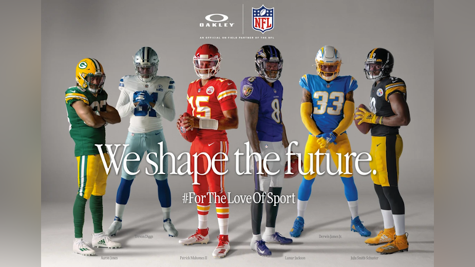 Oakley Unites the Best of the NFL for 'We Shape the Future' Campaign