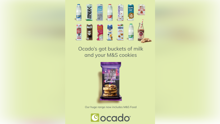 Ocado Launches Exclusive M&S Partnership with First Print Brand Campaign