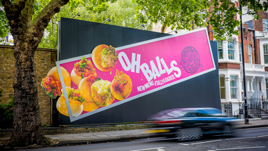 PizzaExpress Drops its Doughballs for 'Explosive' OOH Builds