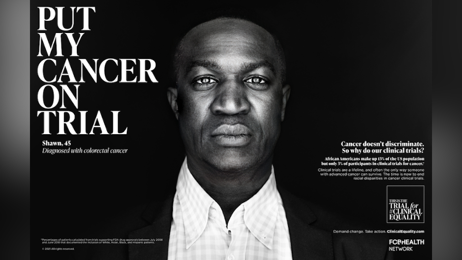 FCB Health Network Puts Clinical Trials in Racial Spotlight for Powerful Campaign