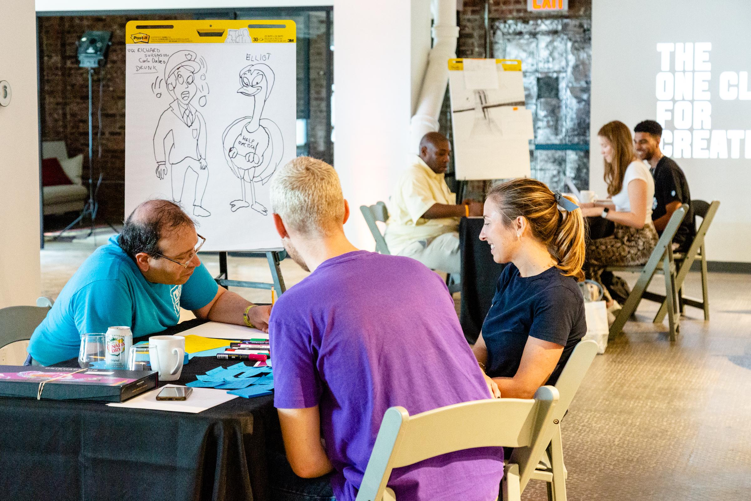 The One Club Holds First 'PSAs Gone Wild' Neurodiversity Creative Workshop