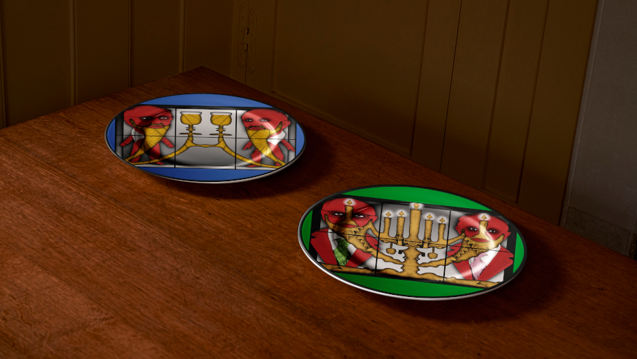 Gilbert & George Serve Up Limited Edition Plates to Feed East London's Most Vulnerable