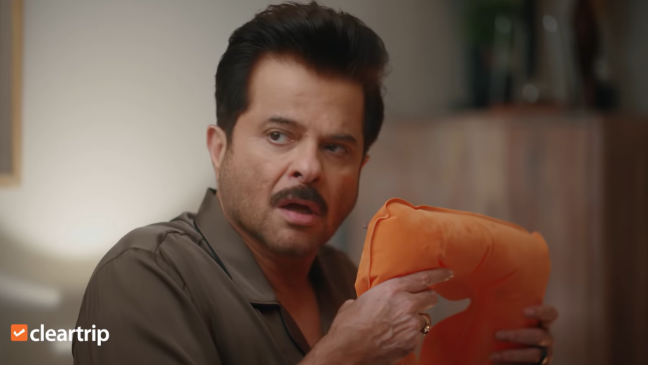 Anil Kapoor Embodies Excited Travellers for Online Travel Company Cleartrip's Joyful Campaign